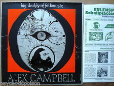 Alex Campbell – Big Daddy of folkmusic LP antagon ALP 3206 Tannahill Weavers