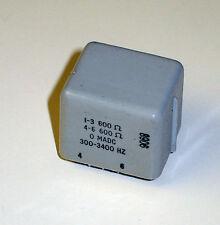 Torotel Power / Audio Transformer TF5R21ZZ 600/600 OHMS
