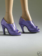 Tonner Nu Mood Purple High Heel 6 Doll Shoes 2012, New, fit Wentworth Body