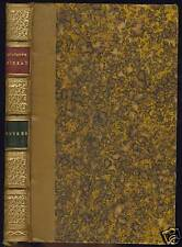 OEUVRES  DE  HEGESIPPE MOREAU: LE MYOSOTIS-POESIES DIVERSES-CONTES 1876 GARNIER