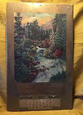 1946 CANDYLAND SHOP Waltham, Massachusetts Advertising Calendar - River/Mountain