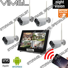 Wireless Security Cameras House Home System WIFI IP CCTV Farm Rwmote Phone View
