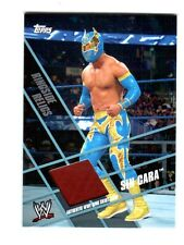 WWE Sin Cara Topps 2011 Ringside Relics Event Used Ring Skirt Relic Card Maroon