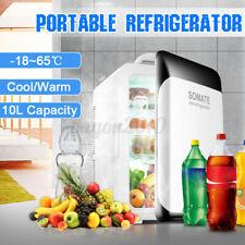 220V/12V 10L Portable Mini Fridge Freezer Cooler Refrigerator Home Office