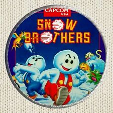 Snow Brothers Patch Picture Embroidered Border Arcade Videogame Capcom Bros NES