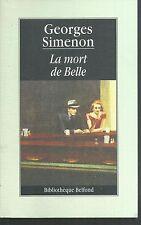 La Mort de Belle.Georges SIMENON.Belfond Z39