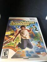 Active  Life; Outdoor Challenge----Nintendo   Wii  Game in case--Everyone