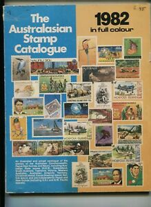 The Australasion Stamp Catalogue 1982 Edition  136  pages