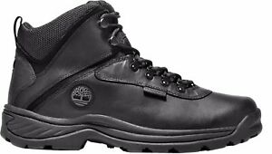 Timberland Men's White Ledge Waterproof Mid Waterproof Hiking Boot - Black