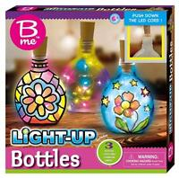 B me LIGHT UP BOTTLES SET FOR KIDS CREATIVE ACTIVITY NEW