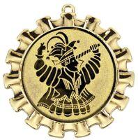 "Karnevalsorden 70mm gold ""Düsseldorf"" inkl.Emblem & Band nur 2,35 EUR/Stück"