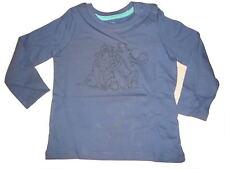 NEU tolles Langarm Shirt Gr. 74 / 80 blau mit Ice Age Mammut Motiv !!