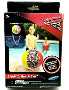 Light-Up Beachball Disney Pixar Cars Edition (G24A)