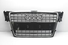 AUDI A4 B8 2007 2016 FRONT BUMPER RADIATOR CENTER GRILL WITH CHROME 8K0853651