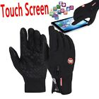 Waterproof Men's Women' Winter Ski Warm Motorcycle Touch Driving Gloves Hot