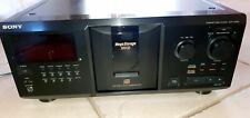 New listing Sony Cdp-Cx300 Mega Storage 300 Disc Cd Player with Remote