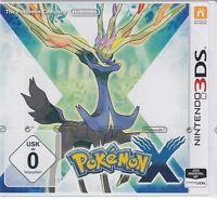 Pokemon X für Nintendo 3DS Neu & OVP Deutsche USK Version