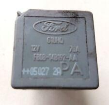Ford Mondeo Mk3  Silver Grey 4 Pin 70A Relay  F80B-14B192-AA  2005