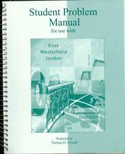 Student Problem Manual Fundamentals of Corp. Finance VF