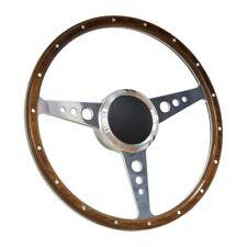 "14"" Marine Boat Aluminum Steering Wheel w/ 3/4"" Tapered Key Way Adapter"