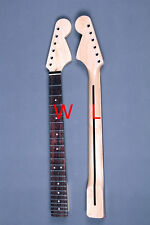 Best 22 FRET Large Headstock Full Scalloped Rosewood Fretboard Neck For Strat