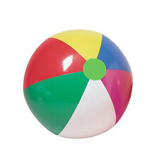 "Giant Jumbo 48"" Multicolor Inflatable Party Beach Ball Summer Water Sand Toy"