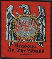 SLAYER PATCH AUFNÄHER # 5 SEASONS IN THE ABYSS 10x10cm FLICKEN ABZEICHEN