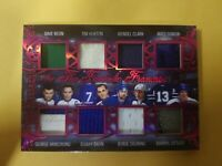 2020/21 In the game used Fantastic Franchise 8 jerseys #'d 3/5 Toronto Leafs