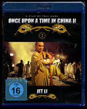 ONCE UPON A TIME IN CHINA II JET LI BLUE-RAY NEU VERSCHWEISST