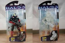 Mcfarlane Halo 3 SDCC Exclusive Set Eva Hellspartan & CQB Active Camouflage