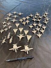 LARGE LOT OF SMALL PLASTIC MODEL AIRCRAFT FOR AIRCRAFT CARRIER OR AIRFIELD