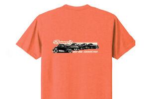 Hot Rod Connection Line Up Orange Short Sleeve T-Shirt