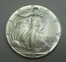 1987 1 Oz. Silver American Eagle Coin - From Original Roll - Gem UNC