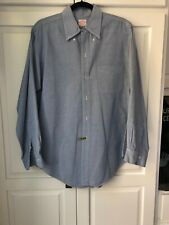 VTG Brooks Brothers Oxford Button Down Mens Shirt  USA Classic Blue 16 1/2 -3