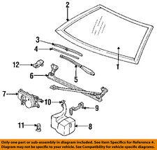 Pontiac GM OEM 88-91 Sunbird Wiper Washer-Windshield-Blade Insert 22121047