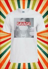 Sexy Savage Eat Hot Girl Lady Funny Men Women Vest Tank Top Unisex T Shirt 1521