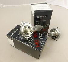 Original De Mg Rover H4 bombillas, Par, Nuevo (glb472x2)