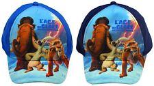 Ice Age Kappe blau und dunkelblau Baseball Cap Cappy Kinder Sonnen Schutz Neu