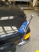 Mercedes standartenhalter einbauanleitung flagpole mounting manual w126 w100
