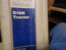 CATERPILLAR D10N TRACK TYPE TRACTOR SERVICE MANUAL NICE
