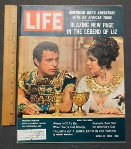 1962 APR 13 LIFE MAGAZINE RARE CANADA VERSION MANTLE/MARIS POST CEREAL CARD 9921