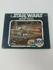 Vintage 1977 Star Wars Series III X-wing Fighters Prepare 2 Attack Puzzle 40150