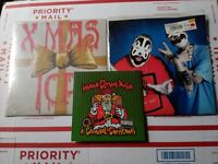 Insane Clown posse Xmas Vinyl Lot Carnival Christmas Leck Mich Twiztid