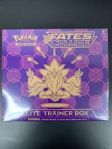 Pokemon TCG XY FATES COLLIDE Elite Trainer Box ETB Factory Sealed 2016 MINT