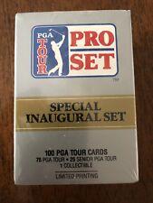 1990 Pro Set Golf Special Inaugural Set