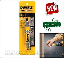 DEWALT #6 Drill Flip Drive Unit Bit Accessories Drilling Faster Tool Job Quality