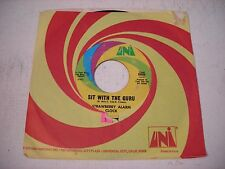 w SLEEVE Strawberry Alarm Clock Sit with the Guru 1968 45rpm VG++ PSYCH