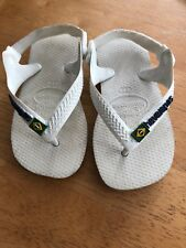 Baby Havaianas Size 7c Us/Eur 24 With Brasil Flag