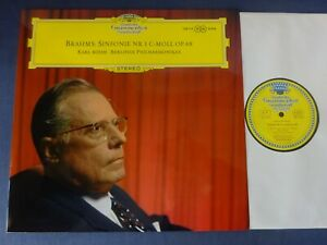 TULIPS NM BRAHMS - SYMPHONY NO 1 LP, Berlin P/O, Karl Bohm, DG 138 113