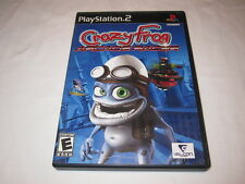 Crazy Frog Arcade Racer (Playstation PS2) Original Release Complete Excellent!